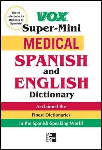 Vox Medical Spanish And English Dictionary Vox (ePUB/PDF)