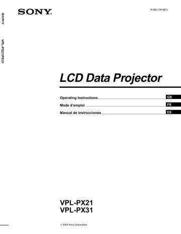Vpl Px31 Manual (ePUB/PDF) Free