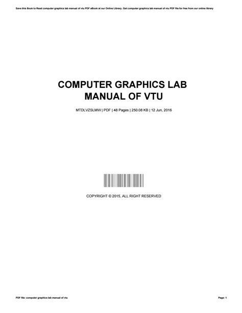 Vtu Msp430 Lab Manual (ePUB/PDF) Free