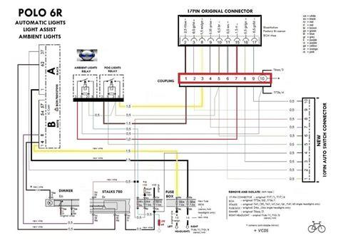 vw polo wiring diagram 2008