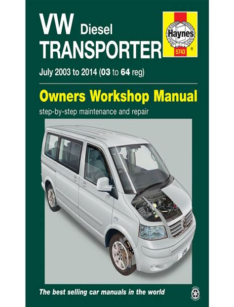 Vw Transporter Repair Manual (ePUB/PDF) Free