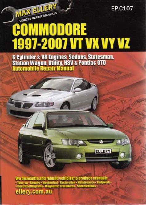 Vz Workshop Manual (ePUB/PDF) Free