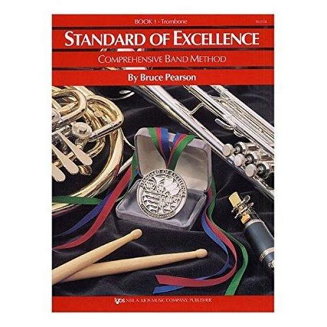 W21tb Standard Of Excellence Book Only Book 1 Trombone Standard Of Excellence Series