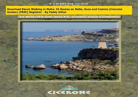 Walking In Malta 33 Routes On Malta Gozo And Comino (ePUB/PDF)