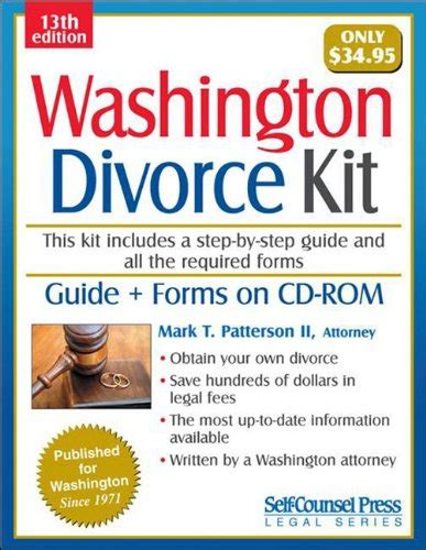 Washington Divorce Kit Legal Series