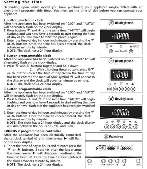 Westinghouse Oven Manuals Instructions (ePUB/PDF) Free
