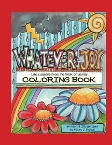 Whatever Joy Coloring Book Life Lessons From The Book Of James
