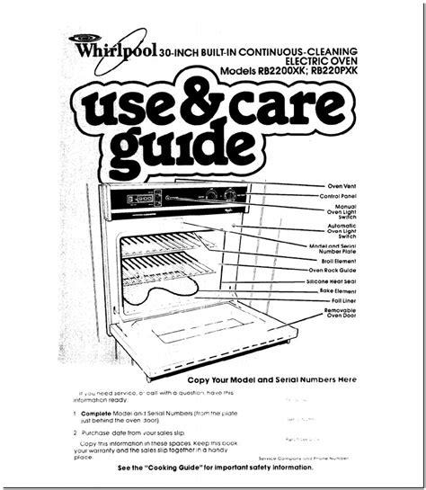 Whirlpool Cooktop User Manual (ePUB/PDF)