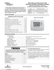 White Rodgers Manual 1f85 275 (ePUB/PDF) Free