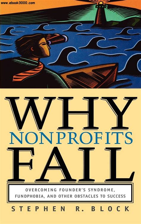 Why Nonprofits Fail Overcoming Founders Syndrome Fundphobia And Other Obstacles To Success