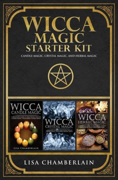 Wicca Magic Starter Kit Candle Magic Crystal Magic And Herbal Magic English Edition