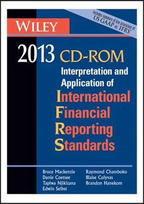 Wiley Ifrs 2013 Interpretation And Application Of International Financial Reporting Standards