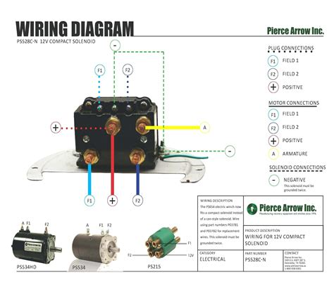 warn 1700 winch wiring diagram warn contactor wiring diagram ... Daylight Switch With Contactor Wiring Diagram on