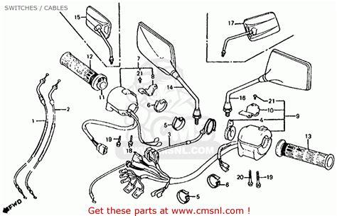 wire diagram 1986 honda cb700sc