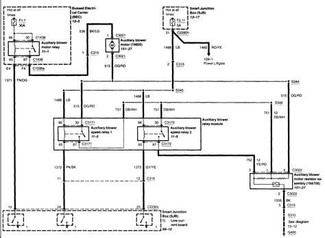 wiring diagram 2004 freestar van