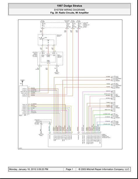 Wiring Diagram For 2002 Dodge Stratus Radiowiring7happs1.web.app