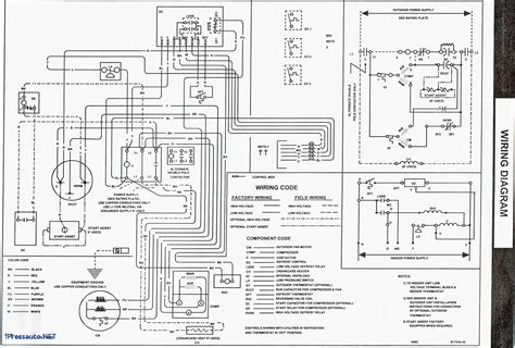 wiring diagram for a goodman furnace