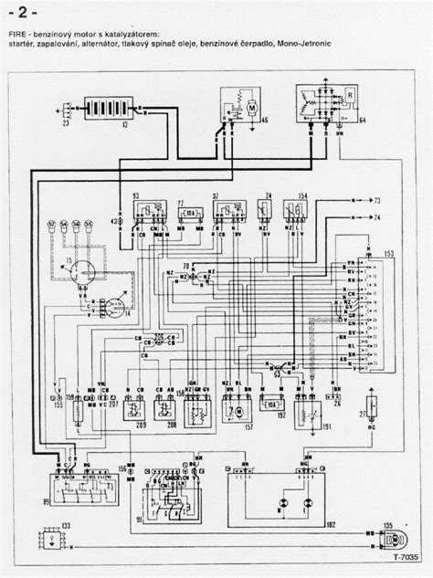 Wiring Diagram For Fiat Uno on
