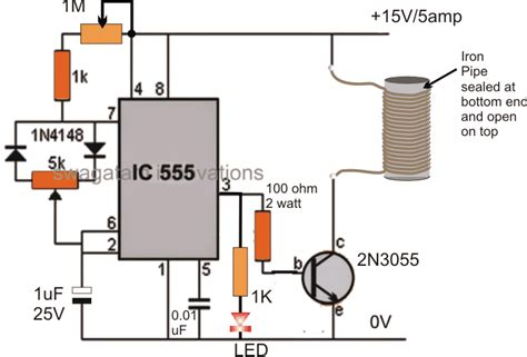 wiring diagram for induction heating