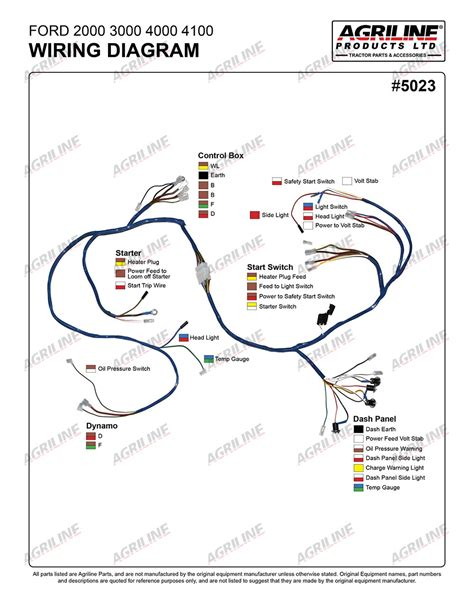 wiring diagram ford 4000 tractor 1966 free
