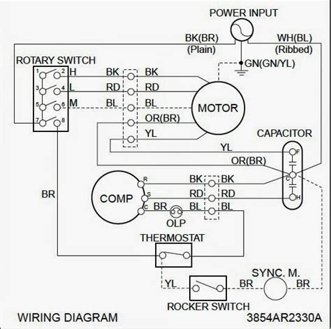 Window Air Conditioner Wiring Diagram Pdf - All Diagram ... on