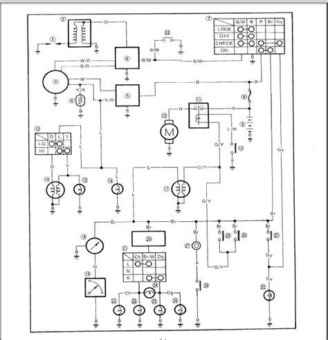 Wiring Diagram Yamaha Jog R (ePUB/PDF) on
