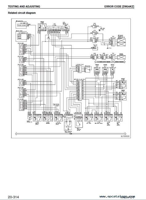 Wiring Komatsu Schematics Wa250 6 (ePUB/PDF)