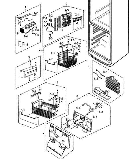 wiring samsung diagram refrigerator rb217a