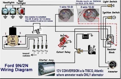 ferguson tractor wiring diagram images wiring diagram for ford 9n 2n 8n