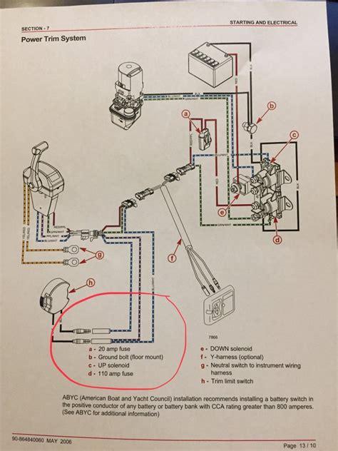 mercruiser trim limit switch wiring diagram images the trim limit wiring diagram for trim sender limit switch page 1
