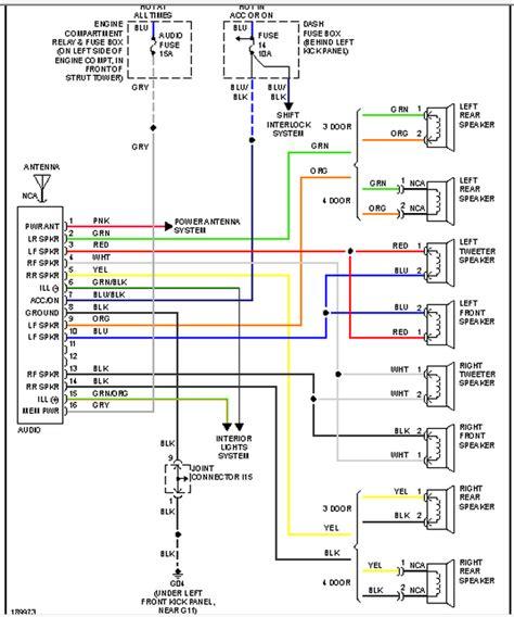 hyundai accent radio wiring diagram images wiring diagram wiring diagrams 2004 hyundai accent wiring wiring