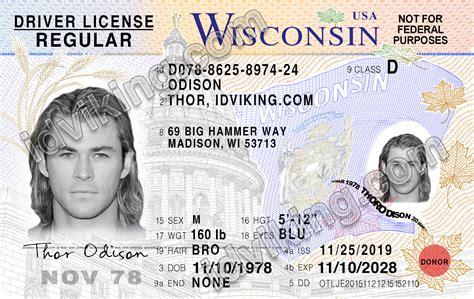 Wisconsin Id Template (ePUB/PDF) Free