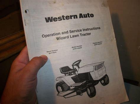 Wizard Tractor Manual (ePUB/PDF) Free