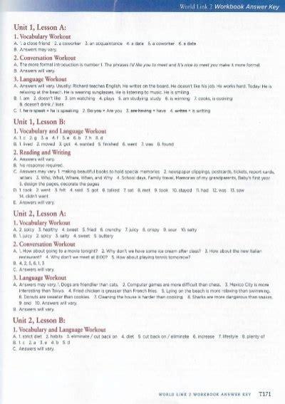 World Link 2 Answer Key (ePUB/PDF) Free