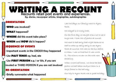 Writing A Recount Esl (ePUB/PDF) Free