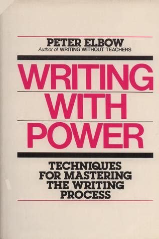 Remarkable Writing With Power Elbow Peter Epub Pdf Wiring Digital Resources Remcakbiperorg