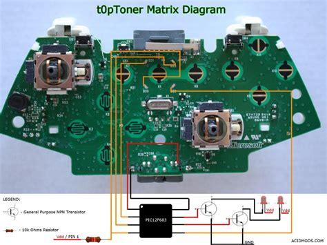 Xbox Controller Schematic Diagram. . Wiring Diagram on