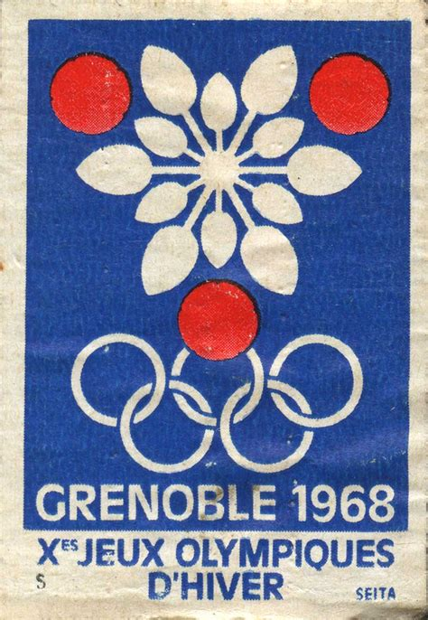 Xes Jeux Olympiques Dhiver Grenoble 1968