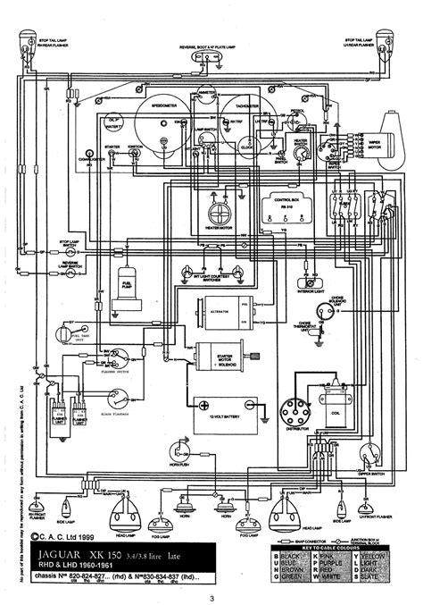 Xk150 Wiring Diagram (ePUB/PDF)