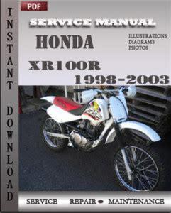 Xr100 Service Manual (ePUB/PDF) Free