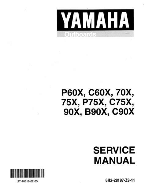 Yamaha C60tlry Outboard Service Repair Maintenance Manual Factory ...