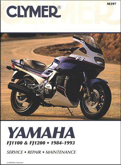 Yamaha Fj1100 1993 Repair Service Manual (ePUB/PDF) Free