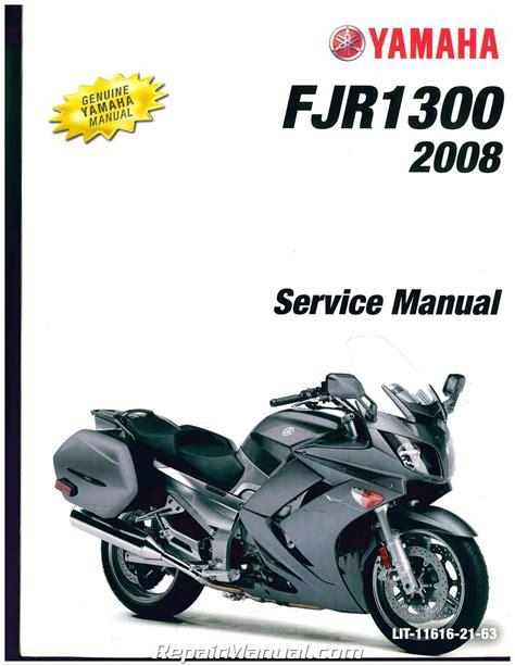 Yamaha Fjr1300 Motorcycle Workshop Service Repair Manual 2001 (ePUB