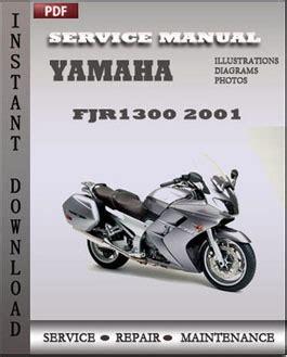 Yamaha Fjr1300 Pdf Service Repair Workshop Manual 2009 2011 (ePUB/PDF)