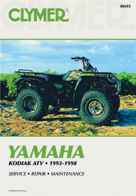 Yamaha Kodiak 4wdyfm400fwl Parts Manual Catalog 1999 (ePUB/PDF)