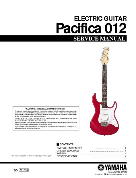 Yamaha Pacifica 012 Wiring Diagram Epub Pdf