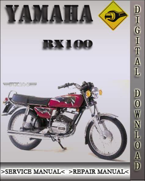 Yamaha Rx100 Service Repair Manual (ePUB/PDF)