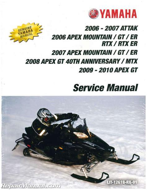 Yamaha Snowmobile Manuals Free (ePUB/PDF) Free