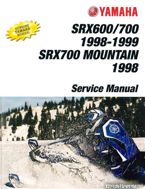 Yamaha Snowmobile Service Manual Mountain Max 500 (ePUB/PDF)
