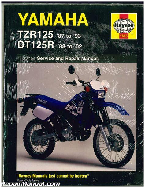Yamaha Tzr125 1987 1993 Repair Service Manual (ePUB/PDF)
